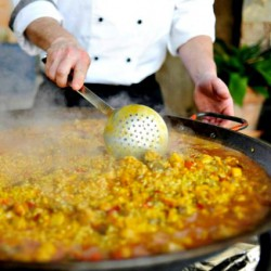 Paella & Market Cooking Class